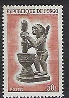 """Congo YT 168 """" Sculpture Indigène """" 1964 Neuf** - Neufs"""