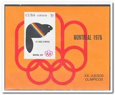 Cuba 1976, Postfris MNH, Olympic Summer Games - Ongebruikt