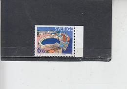 SVEZIA  2001 - Unificato  2199 - UNESCO - Svezia