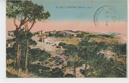 ASIE - LIBAN - LEBANON - MONT LIBAN - BROUMANA - BROUMMANA - Liban