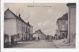 CPA 71 IGUERANDE Le Bas Du Bourg - France