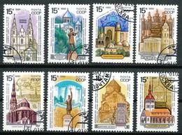 Sowjetunion - Mi.Nr.  6108 - 6115   Gestempelt   Baudenkmäler - 1923-1991 UdSSR