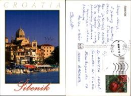 SIBENIK,CROATIA POSTCARD - Kroatien