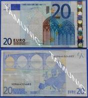 SPAIN  20 EURO V 2002 M008 C1 DUISENBERG - EURO