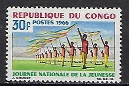 """Congo YT 182 """" Journée Jeunesse """" 1966 Neuf** - Neufs"""