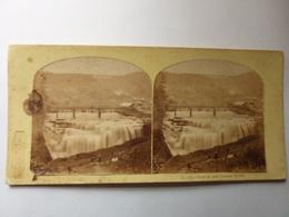 View On The Genesee River - Rivière De Pennsylvanie USA - Stereoscopic