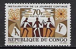 "Congo YT 186 "" Journée Continue "" 1966 Neuf** - Neufs"