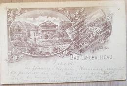 Germany Gruss Aus Bad Langballigau 1898 - Germania