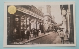 Habana,Havanna, Calle Obispo, Cuba, Kuba, 1910 - Cuba