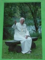 Papa BENEDETTO XVI  Joseph Aloisius Ratzinger - Marktl - Santino - Images Religieuses
