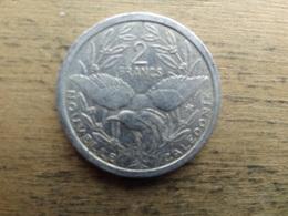 New Caledonie  2  Francs  1987  Km 14 - Nouvelle-Calédonie