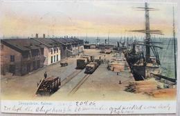 Sweden Kalmar Skeppsbron 1906 - Svezia