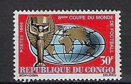 "Congo YT 189 "" Coupe Monde Football "" 1966 Neuf** - Neufs"