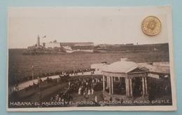 Habana, Havanna, El Male On Y El Morro, Cuba, Kuba, 1910 - Cuba