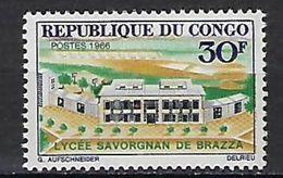 "Congo YT 196 "" Lycée "" 1966 Neuf** - Neufs"