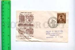 201441 INDIA 1959 Year Jamsetjee Jejeebhoy RP First Day Cover - India