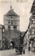 CPA Allemagne Bade Wurtemberg Rottweil A N Das Schwarze Tor - Breisach