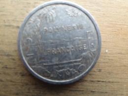 Polynesie  Francaise 2  Francs  1986  Km 10 - French Polynesia