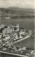 Principaute De Monaco, Montecarlo, Vue Panoramique, Au Fond Le Cap Martin, Panoramic View, Scorcio Panoramico - Viste Panoramiche, Panorama