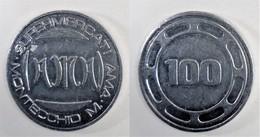 MONTECCHIO MAGGIORE VICENZA GETTONE SUPERMERCATI AMA DA 100 (P15) - Monétaires/De Nécessité