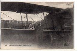 Aviation : La Parachutiste Andrée Blanche - Paracadutismo