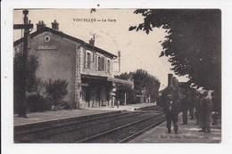 CPA 89 VINCELLES La Gare - Andere Gemeenten