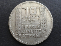 10 FRANCS TURIN ARGENT 1930 FRANCE - K. 10 Francs