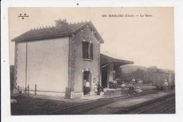 CPA 18 BARLIEU La Gare - Autres Communes