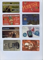 Set Of +10 Cards With Divers Countries / Topics Parfum Israel Death Sea Roll/ Rock Namur / Some Very Nice - Phonecards