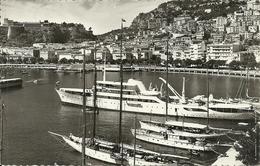 Principaute De Monaco, Montecarlo, Le Port Et La Condamine, Yachts Et Bateaux - La Condamine