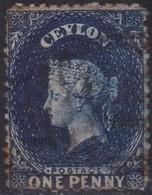 Ceylon       .   SG      .   63bx  Wmk Reversed     .      O     .    Cancelled     .   /    .   Gebruikt - Ceylon (...-1947)