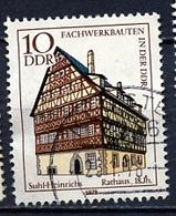 Allemagne Démocratique - Germany - Deutschland 1978 Y&T N°1964 - Michel N°2294 (o) - 10p Mairie De Suhl Heinrichs - [6] République Démocratique