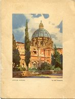 "MENU TERZA CLASSE - ITALIA SOCIETA DI NAVIGAZIONE GENOVA. MN. ""AUGUSTUS"" 26 NOVEMBRE 1952. WITH VATICANO PAINT -LILHU - Menus"