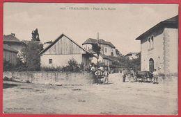 Challonges. Haute Savoie (74). Carte Animée, Char à Bœufs. - Autres Communes