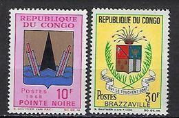 "Congo YT 213 & 214 "" Armoiries Villes "" 1967 Neuf** - Neufs"