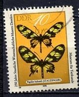 Allemagne Démocratique - Germany - Deutschland 1978 Y&T N°2038 - Michel N°2370 (o) - 10p Papilio Hahneli - [6] République Démocratique