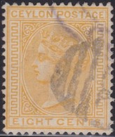 Ceylon       .   SG      .  150a      .      O     .    Cancelled     .   /    .   Gebruikt - Ceylon (...-1947)