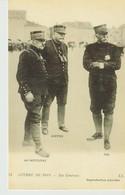 C.P. - GUERRE DE 1914 - NOS GÉNÉRAUX - DE CASTELNAU - JOFFRE - PAU - 54 - L. L. - Guerra 1914-18