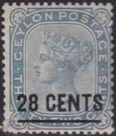 Ceylon       .   SG      .    190    .   *   .       Mint-hinged      .   /    . Ongebruikt - Ceylon (...-1947)