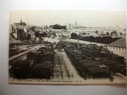 Carte Postale Angouleme (16) Vue De La Passerelle Chaignaud (Chemin De Fer -Wagon) (Petit Format Non Circulée ) - Angouleme
