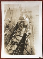 Toulon Ou Creux-St-Georges. Porte-submersible Kanguroo. Sous-marin. Ets Schneider. 1914-16. - Barcos