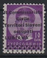 1941 Occupazione Lubiana - 9. Occupazione 2a Guerra (Italia)