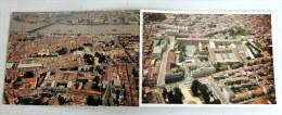 Carte Postale Double : BORDEAUX : Ecole Du Service De Santé Des Armées , Lycée Eiffel, Vue Aérienne - Bordeaux
