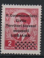 1941 Occupazione Lubiana Mlh - 9. Occupazione 2a Guerra (Italia)