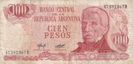 100 Pesos - Argentine
