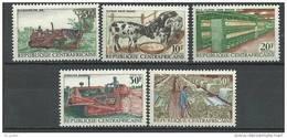 """Centrafrique YT 103 à 107 """" Opération Bokassa """" 1968 Neuf** - Centrafricaine (République)"""