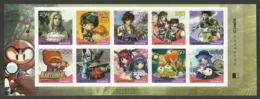 KOREA 2006 ONLINE COMPUTER GAMES ANIMATION CARTOONS SET MNH - Korea, South