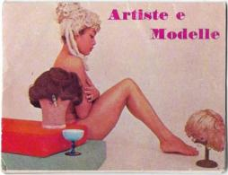Calendarietto ARTISTE E MODELLE 1964 - Calendars