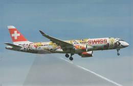 Swiss International Air Lines-Swiss Romandy Cs -Bombardier CS300 HB-JCA At PRG 1/2 - 1946-....: Era Moderna