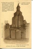 """44- Nantes Ancien-Etude Rétrospective N° 45 """" Le Clocher' XVe Siècle De L'Eglise St-Similien  """" - Nantes"""